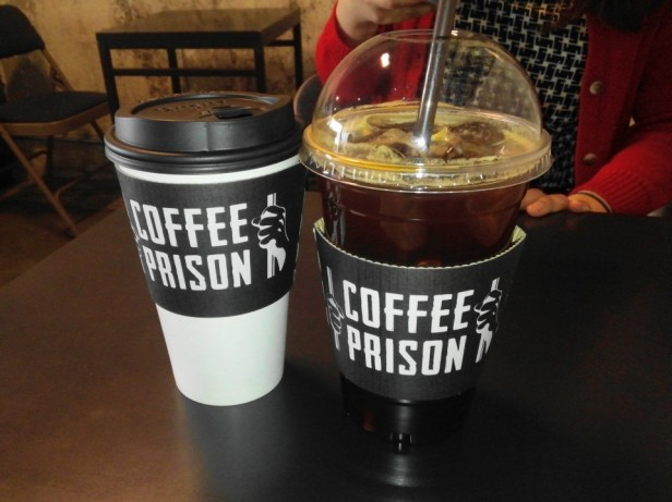 Coffee Prison Hongdae Seoul Ice