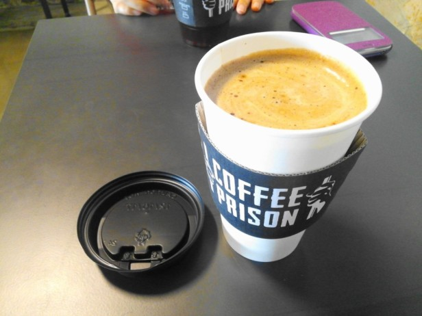 Coffee Prison Hongdae Seoul Latte