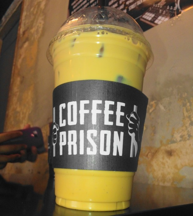 Coffee Prison Hongdae Seoul Vanilla Latte