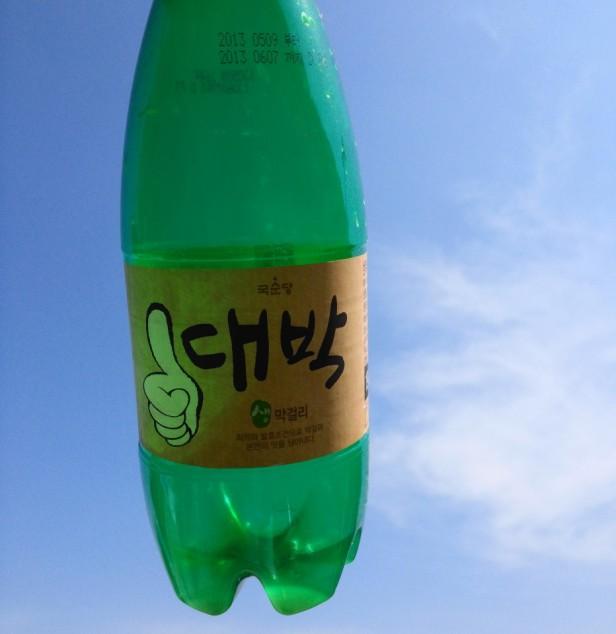 Daebak Makkoli - Empty Bottle