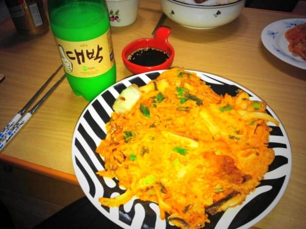 Daebak Makkoli - With Korean Pancake