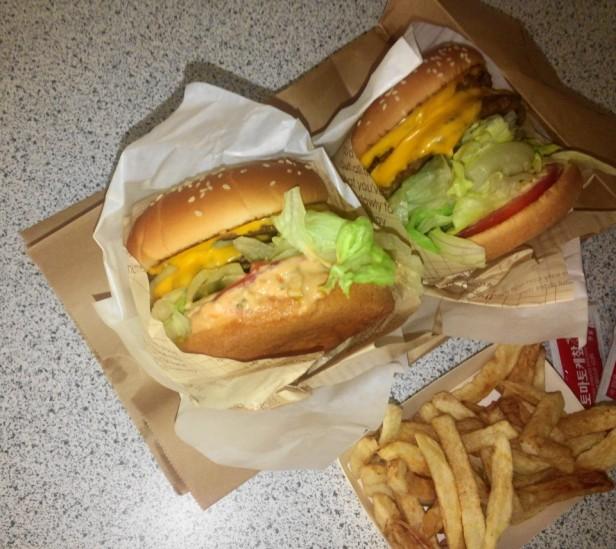Double 2 Double Burger Cheongna Incheon Korea