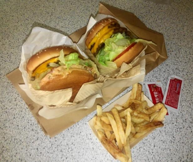 Double 2 Double Burger Cheongna Incheon Set