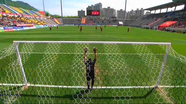 Gyeongnam vs. Jeju United - Behind Goal