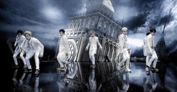 Infinite Last Romeo White Suits Big Ben