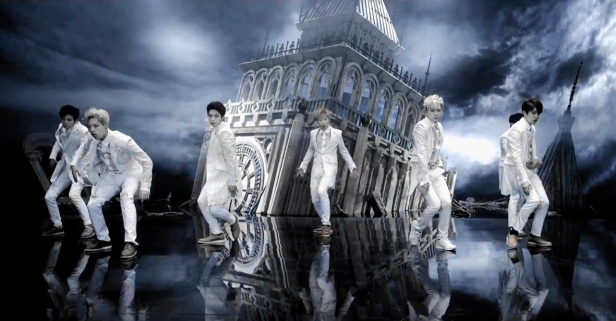 Infinite Last Romeo White Suits Big Ben