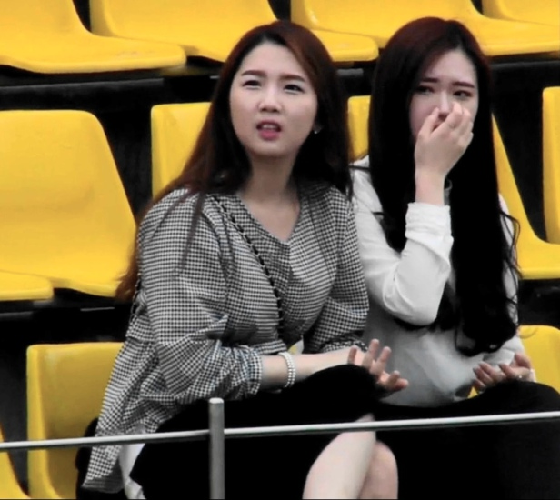 Jeonnam Dragons Female Fans
