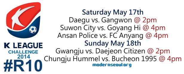 K League Challenge 2014 Round 10