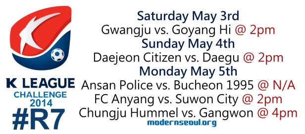 K League Challenge 2014 Round 7