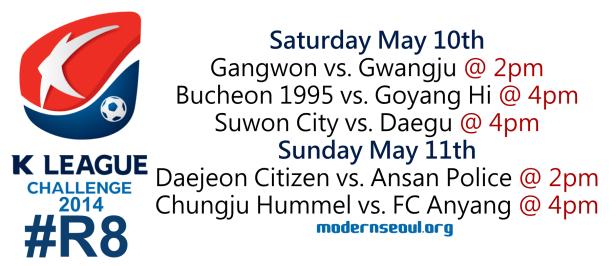 K League Challenge 2014 Round 8