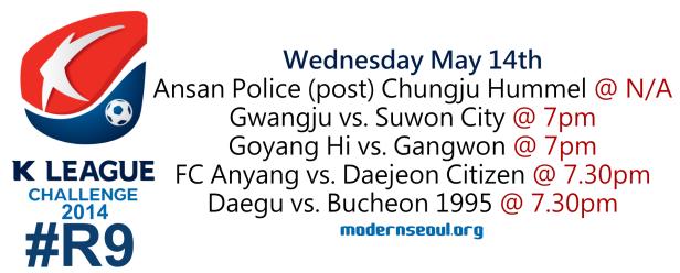 K League Challenge 2014 Round 9