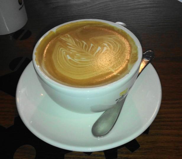 Kong Coffee Roasting Bupyeong Incheon Latte