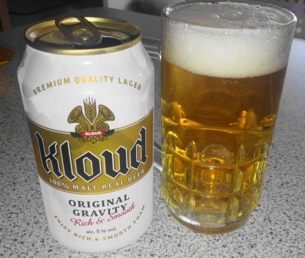 Lotte Kloud Korean Beer 1