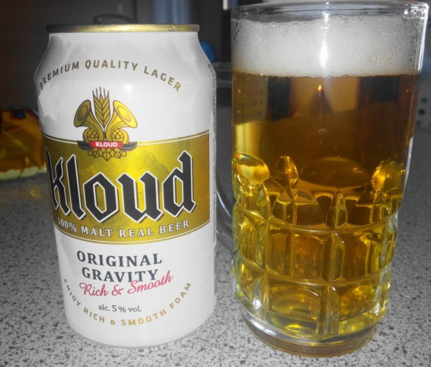 Lotte Kloud Korean Beer 2