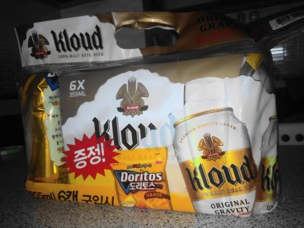 Lotte Kloud Korean Beer Pack