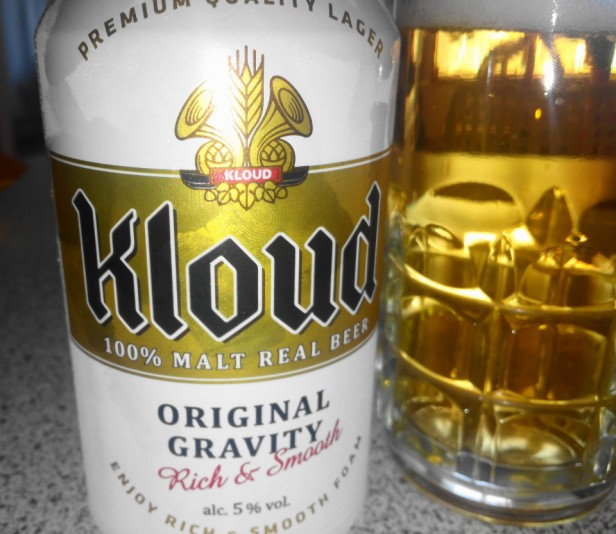 Lotte Kloud Korean Beer