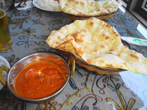 Machhapuchhre Indian Restaurant Tikka and Naan