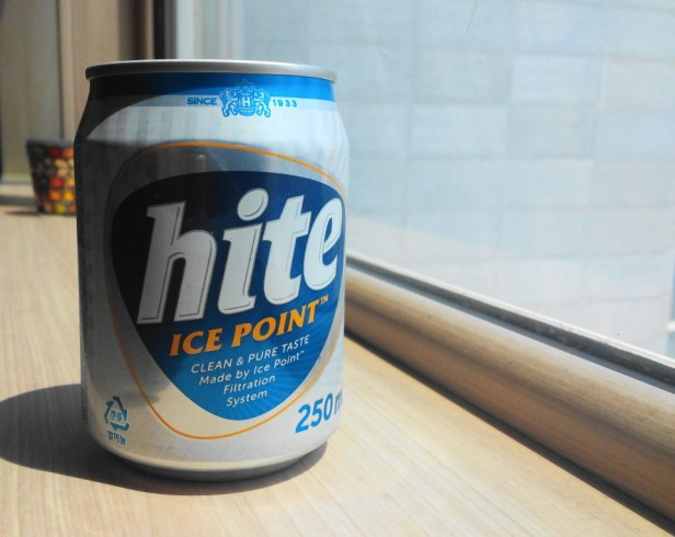 Mini Hite Beer Can