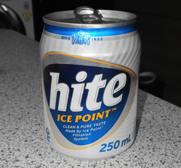 Mini Hite Korean Beer Can