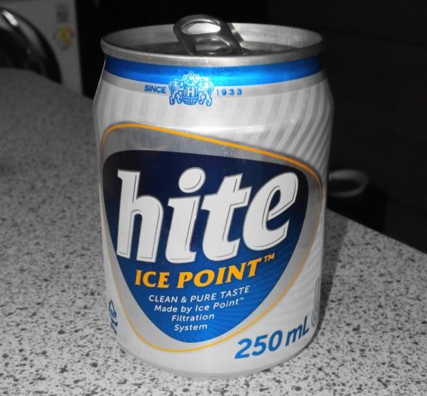Mini Hite Korean Beer Can