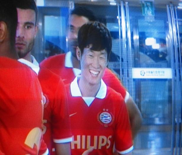 Park Ji Sung Before game vs. Suwon Bluewings 2