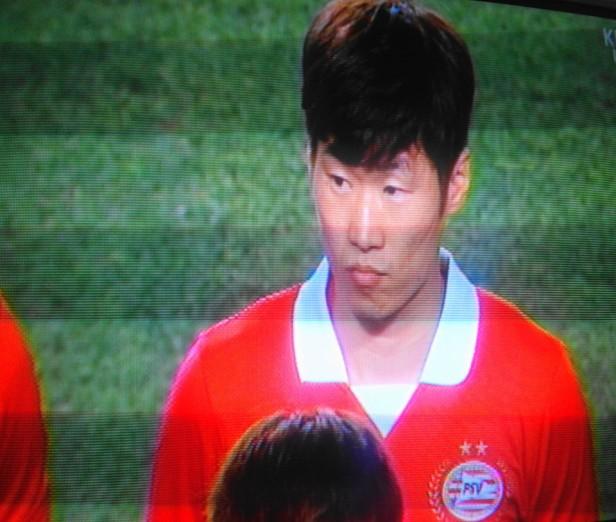 Park Ji Sung Before game vs. Suwon Bluewings 3