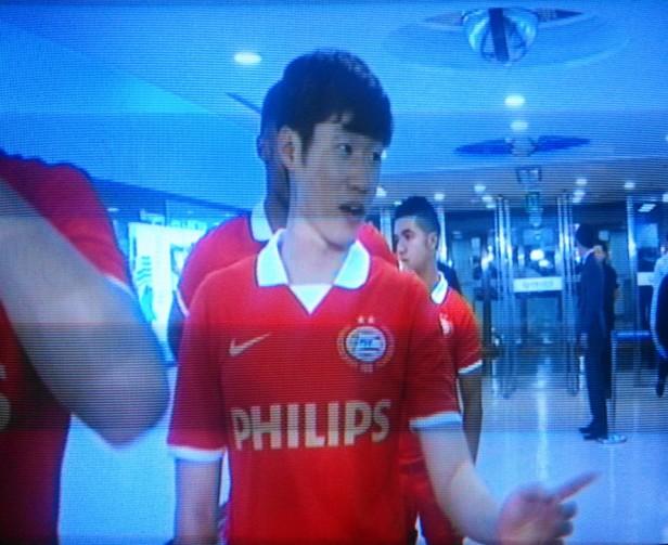 Park Ji Sung Before game vs. Suwon Bluewings