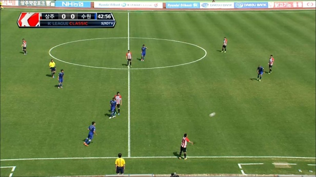 Sangju Sangmu vs. Suwon Bluewings - 1st Half