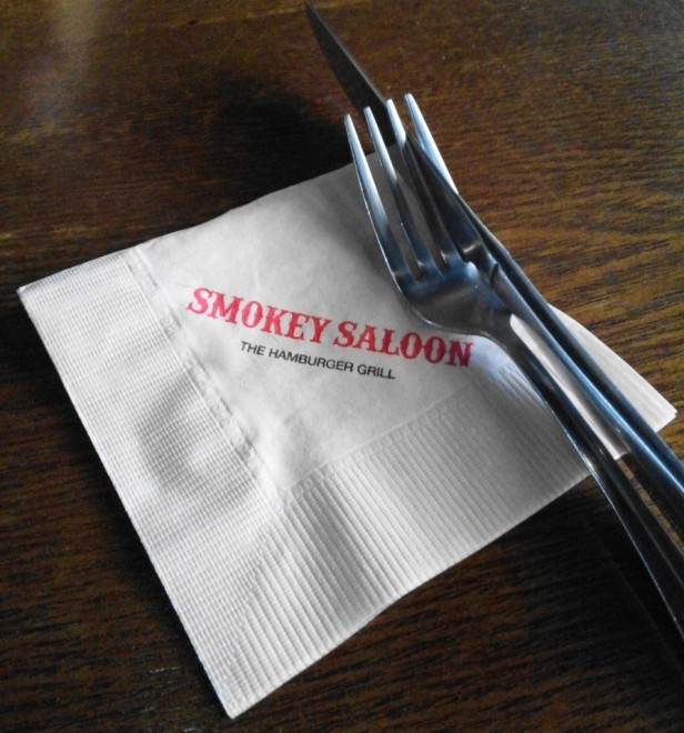 Smokey Saloon Hongdae Seoul - Napkin