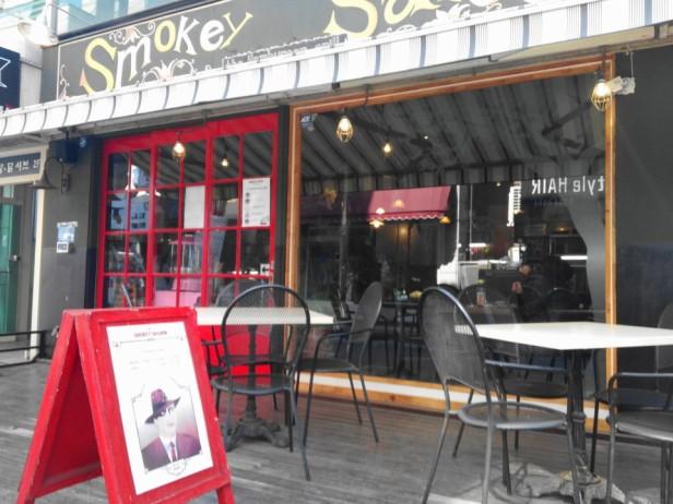 Smokey Saloon Hongdae Seoul - Outside