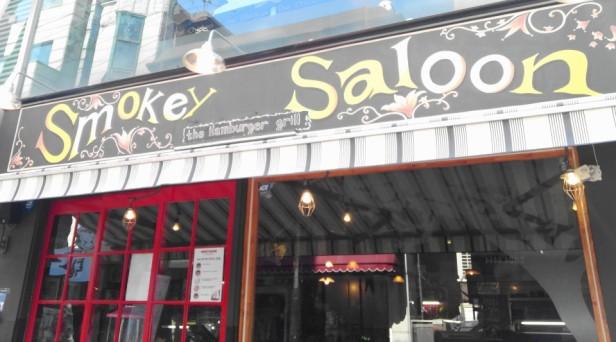 Smokey Saloon Hongdae Seoul - Sign
