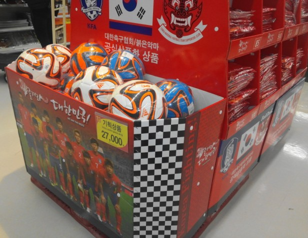 South Korean World Cup 2014 Soccer Footballs