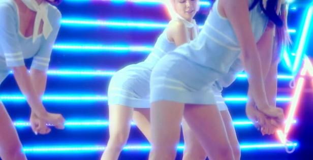 AOA Short Hair Sexy Dance