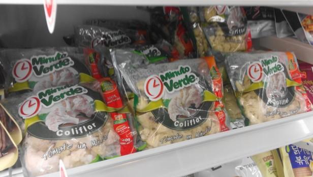 Cauliflower in Korea at Homeplus