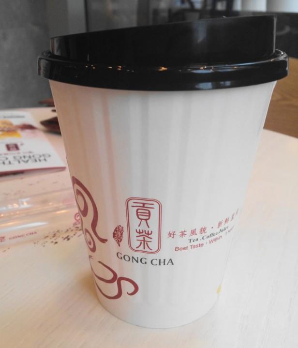 Gong Cha Tea Korea Cup