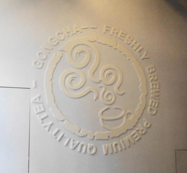 Gong Cha Tea Korea Wall Design
