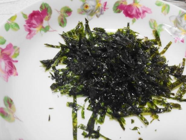 Homemade Kimbap Ball Seaweed Gim