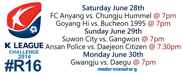 K League Challenge 2014 Round 16 1