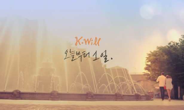 K.Will Day 1 - Banner