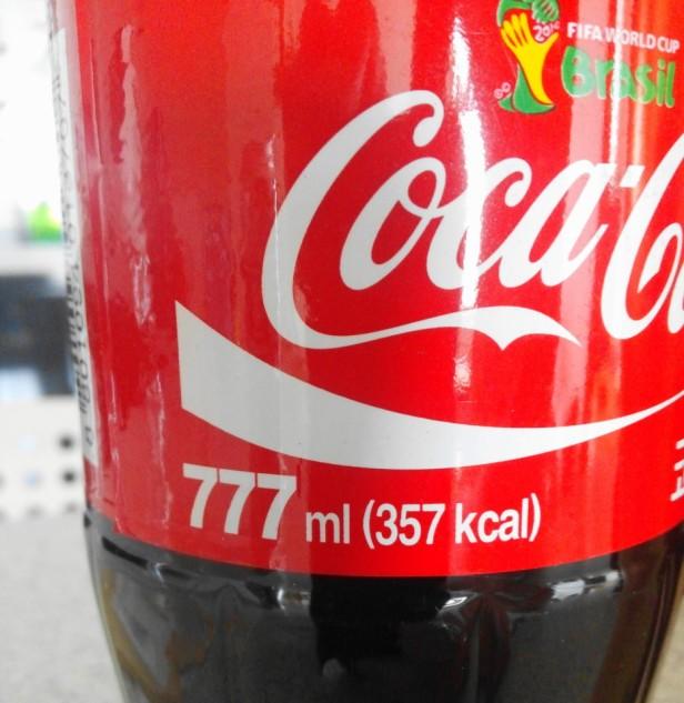 Korean World Cup 2014 Products 777 ml Coca Cola