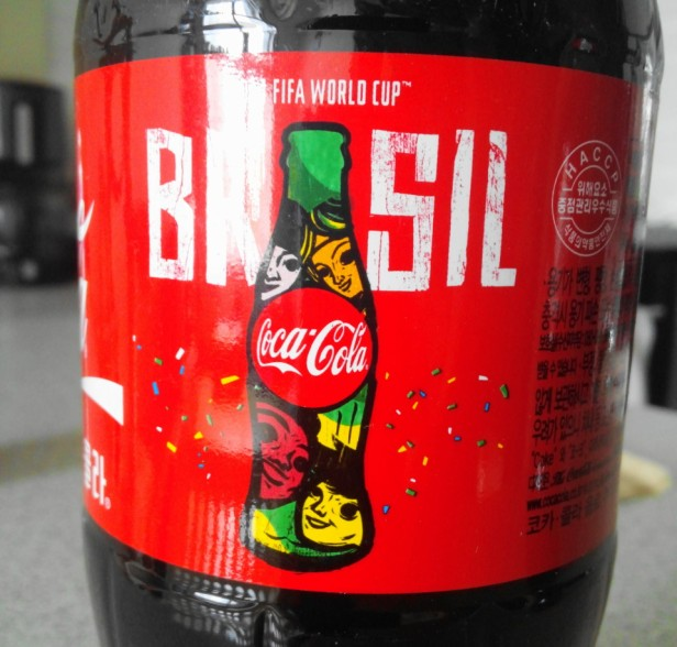 Korean World Cup 2014 Products Coca Cola Brasil