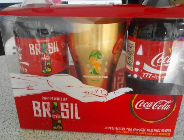 Korean World Cup 2014 Products Coca Cola Set