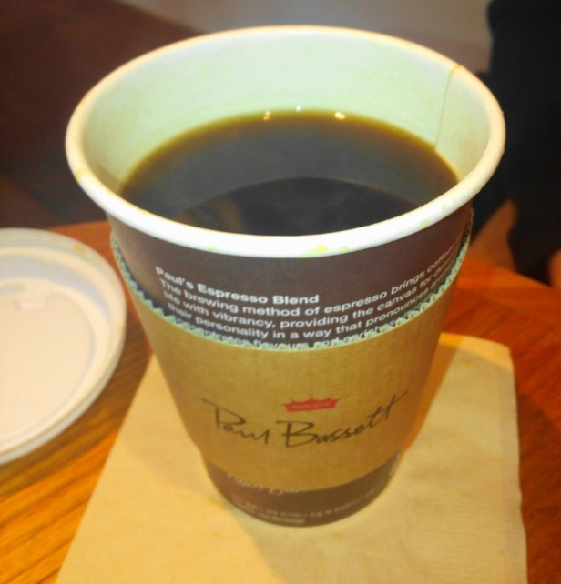 Paul Bassett Coffee Seoul Black