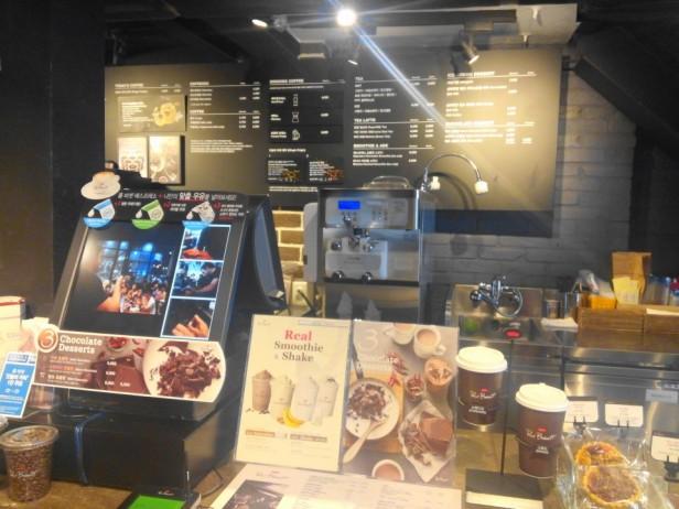 Paul Bassett Coffee Seoul pos