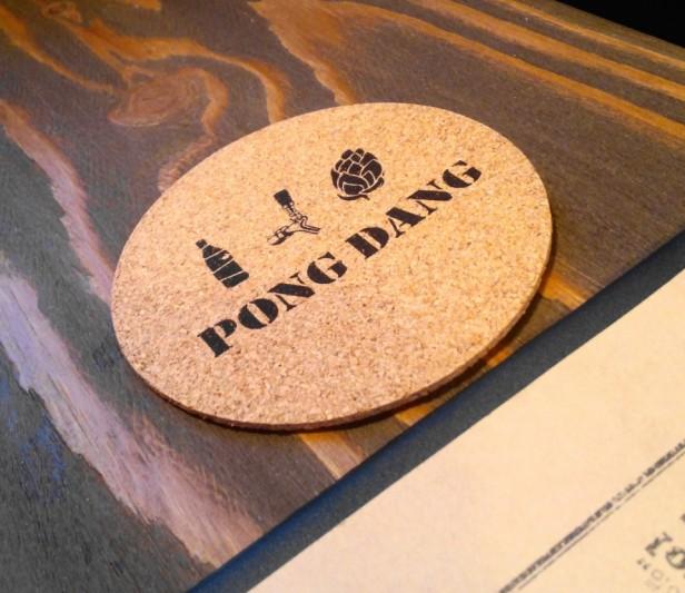 Pong Dang Taphouse HBC Seoul Coaster