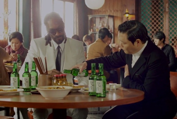 PSY Hangover Snoop Dogg Chinese Restaurant Soju