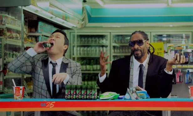 PSY Hangover Snoop Dogg GS25 2