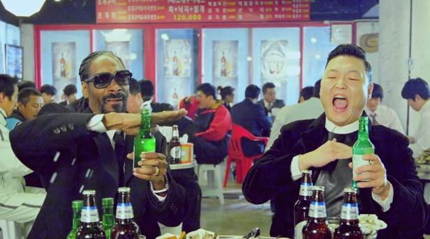PSY Hangover Snoop Dogg Soju Shake 2
