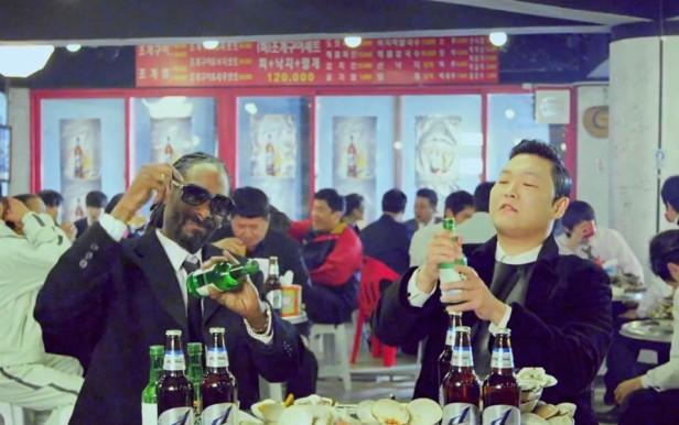PSY Hangover Snoop Dogg Soju Shake