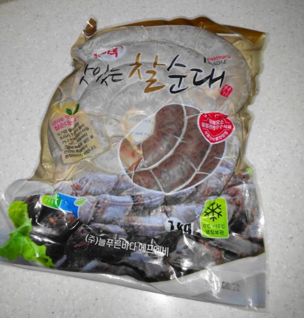 Sundae Korean Sausage Packet